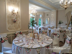 vintage flair venue styling
