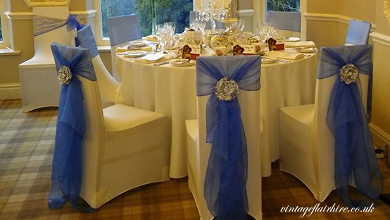 vintage-flair-hire-blue-sashes-merewood-hotel